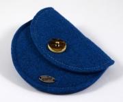 Filzgeldtascherl Blau
