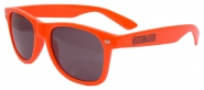 "Sonnenbrille ""Heissmacher"" Orange"
