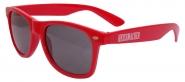 """Sonnenbrille """"Heissmacher"""" Rot"""
