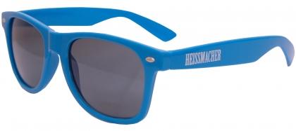 """Sonnenbrille """"Heissmacher"""" Blau"""