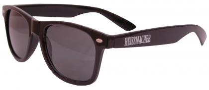 """Sonnenbrille """"Heissmacher"""" Schwarz"""
