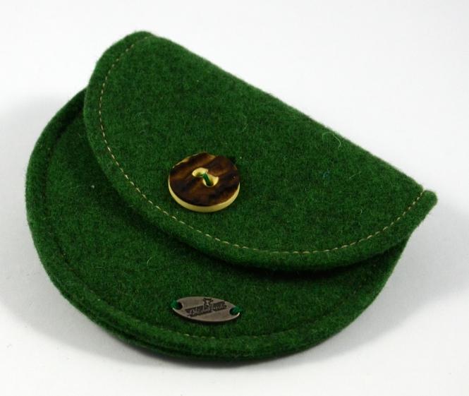 Filzgeldtascherl Grün