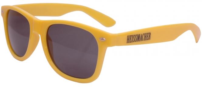 """Sonnenbrille """"Heissmacher"""" Gelb"""