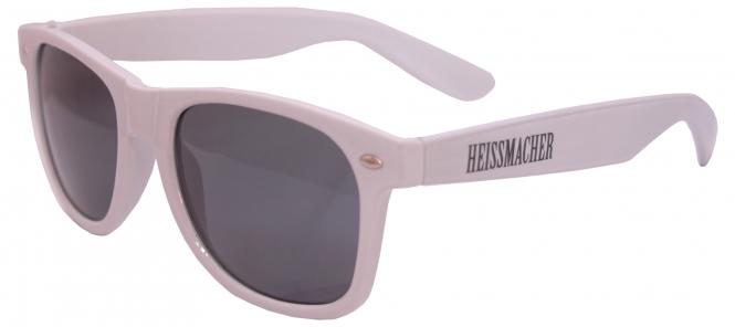 """Sonnenbrille """"Heissmacher"""" Weiss"""